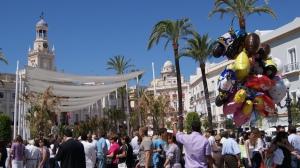 Ciudadanos de Cádiz en el Ayuntamiento de Cádiz / Diego Pereira.