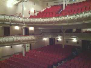 Gran Teatro de Huelva donde se celebra el Concurso Oficial de Agrupaciones. / José María Lugardo